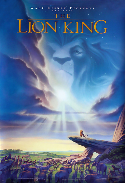 The Lion King Fan Casting Poster