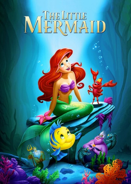 The Little Mermaid (Live Action African American Version) Fan Casting Poster