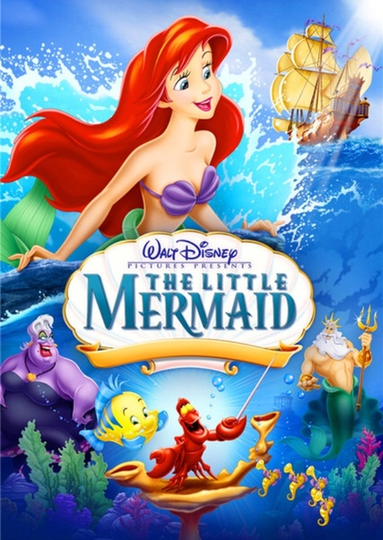 The Little Mermaid (re-dub) Fan Casting Poster