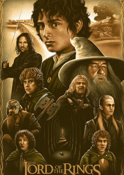 The Lord Of The Rings Trilogy Fan Casting Poster
