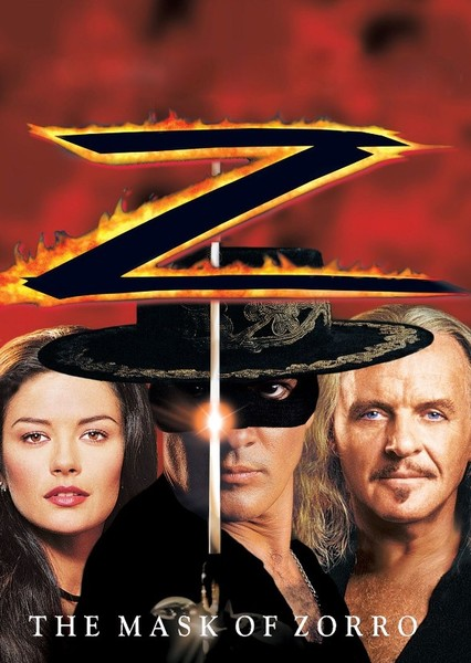 The Mask of Zorro Fan Casting Poster