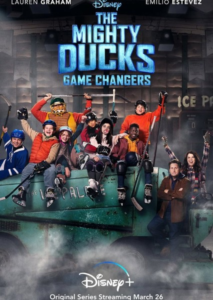 The Mighty Ducks: Game Changers Fan Casting Poster