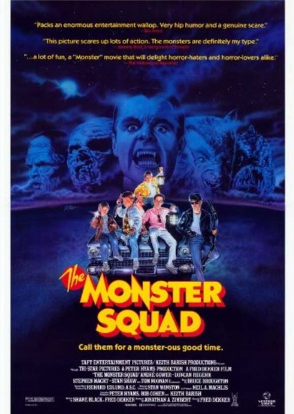 The Monster Squad Fan Casting Poster