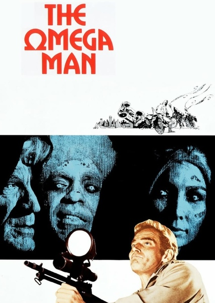 The Omega Man (Modern Remake) Fan Casting Poster