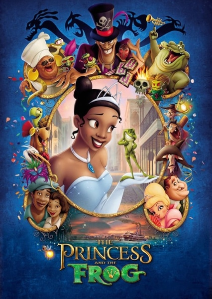 princess and the frog cast dr facilier