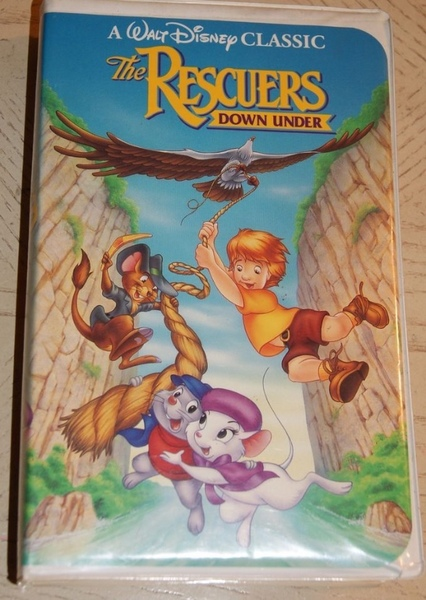 The Rescuers Down Under  Fan Casting Poster