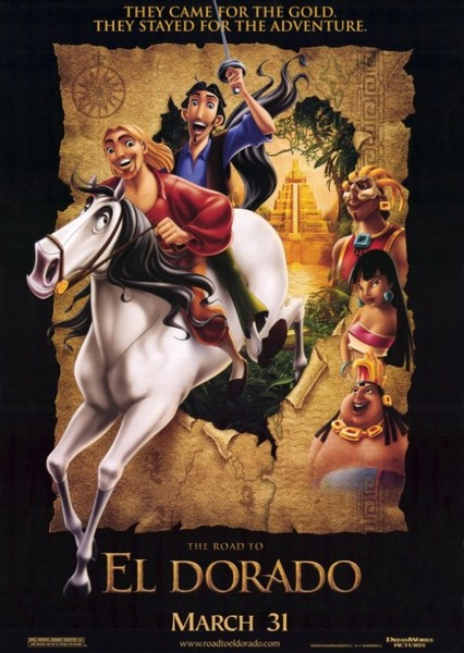 The Road to El Dorado Fan Casting Poster