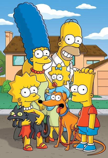 The Simpsons Fan Casting Poster