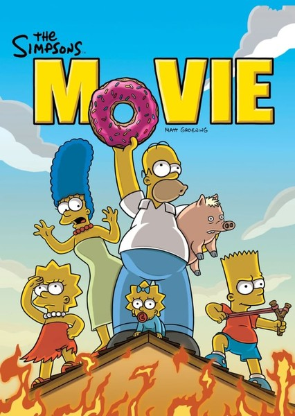 The Simpsons live action movie Fan Casting Poster