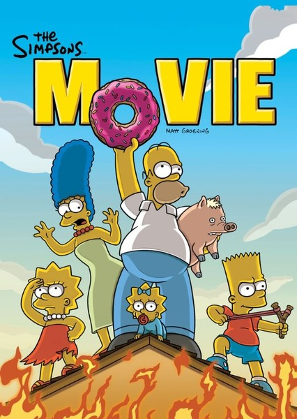 The Simpsons Movie: Adventures in Springfield Fan Casting Poster