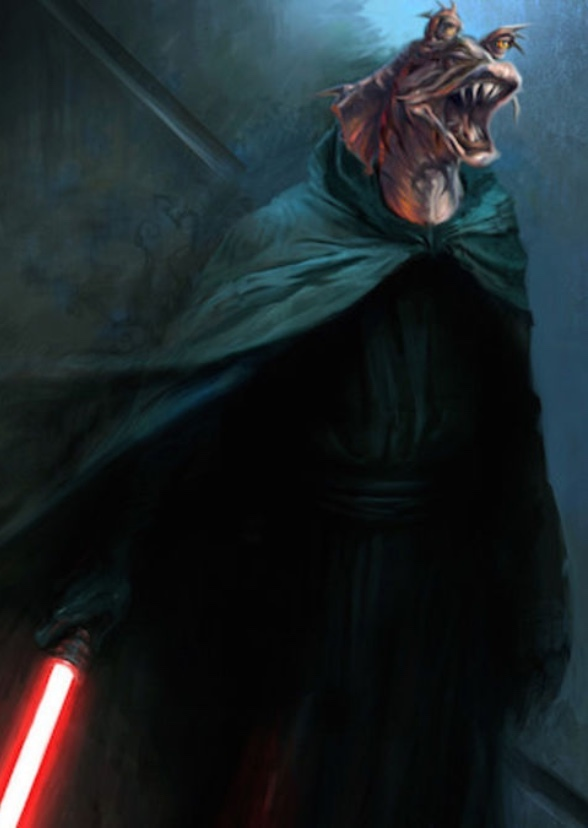 Fan Casting Ahmed Best As Darth Jar Jar In The Sith Lord A Star Wars Story On Mycast