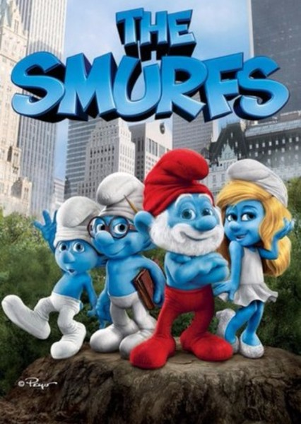 The Smurfs Fan Casting Poster