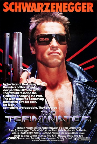The Terminator Fan Casting Poster