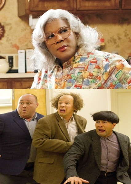 The Three Stooges Meets Madea Fan Casting Poster