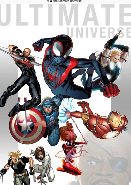 The Ultimate Universe Fan Casting Poster