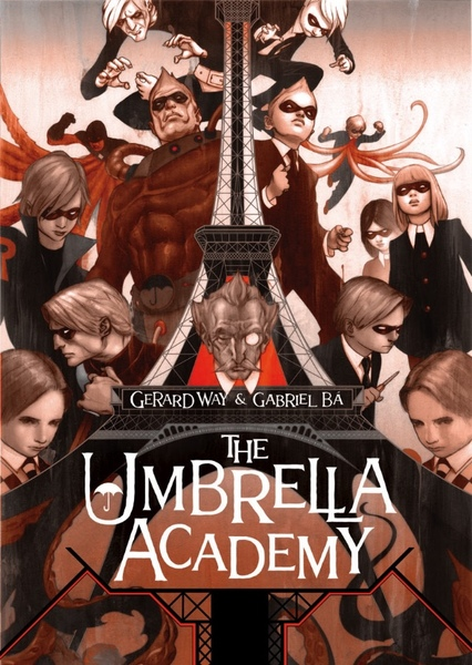 The Umbrella Academy Fan Casting Poster