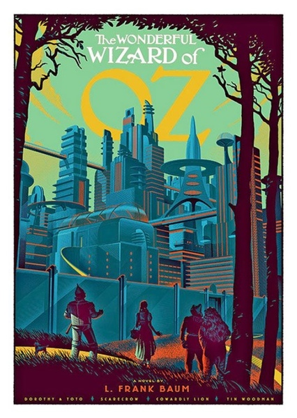 The Wizard of Oz Fan Casting Poster