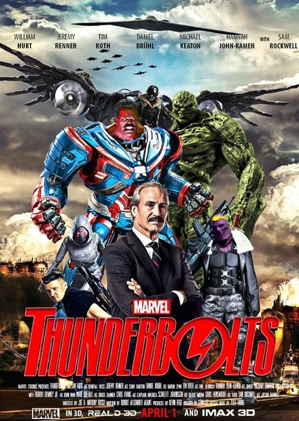 Thunderbolts (MCU) Fan Casting Poster