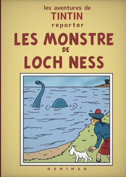 Tintin and the Monster of Loch Ness Fan Casting Poster