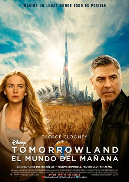 Tomorrowland Fan Casting Poster