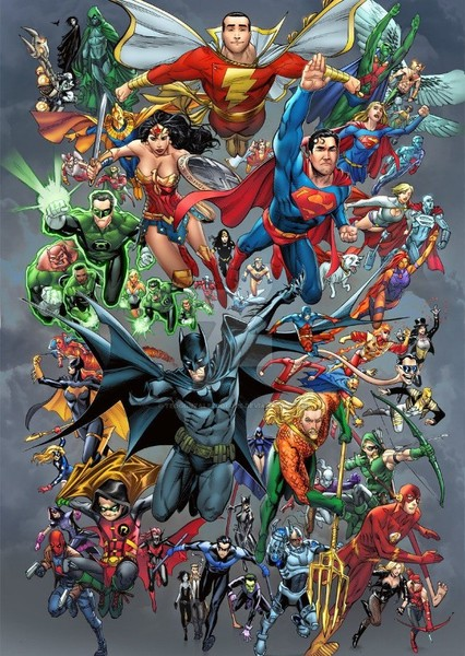 Top 10 DC Heroes Fan Casting Poster