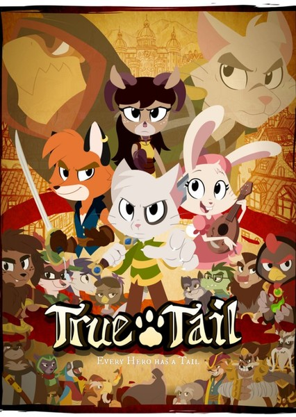 Truetail: the Movie  Fan Casting Poster