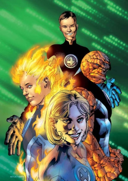 Ultimate Fantastic Four Fan Casting Poster