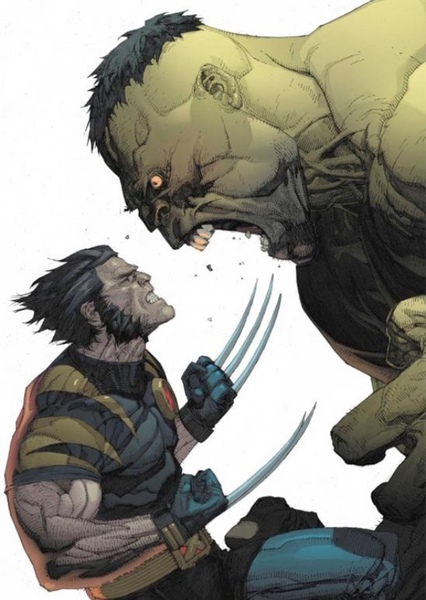Ultimate Wolverine vs. Hulk Fan Casting Poster