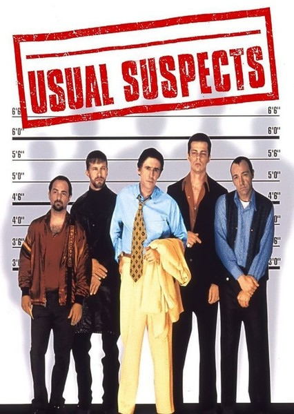 Usual Suspects Fan Casting Poster