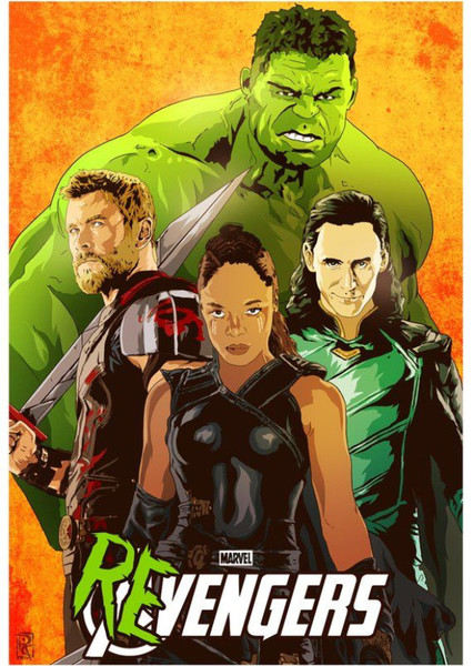 Valkyrie and The Revengers Fan Casting Poster