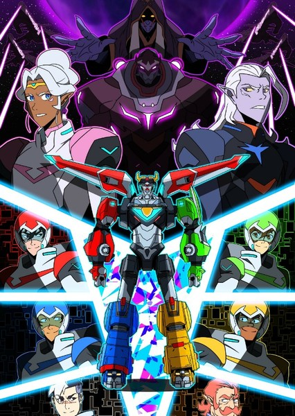 Voltron: Defender of the Universe Fan Casting Poster