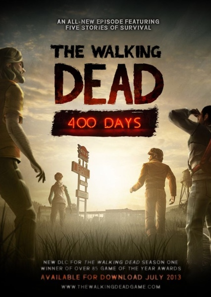 Walking Dead 400 Days Fan Casting Poster