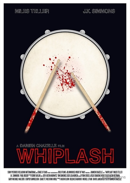 Whiplash: 1980s Edition Fan Casting Poster