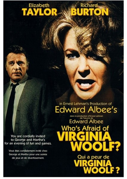 Who's Afraid of Virginia Woolf Fan Casting Poster
