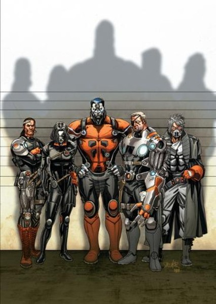 X-Force Fan Casting Poster
