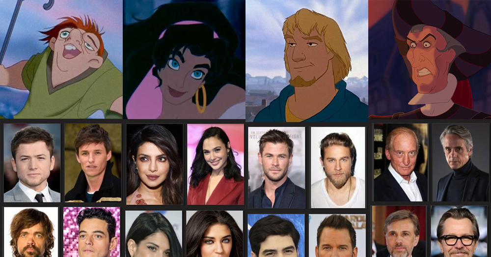 Fan Casting a Live-Action Version of The Hunchback of Notre Dame
