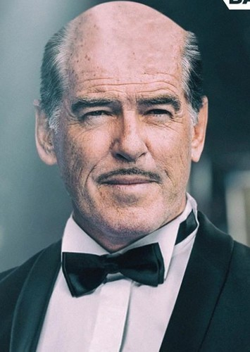 Pierce Brosnan as Alfred J. Pennyworth in DC-Universe